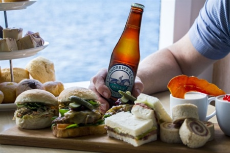 Boats, beer and sliders for dad this Father's Day
